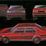 Image of Alfa Romeo 75 First Series