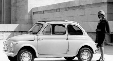 Fiat Nuova 500 D (updated carburetor)
