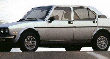Alfa Romeo Alfetta 2.0i America