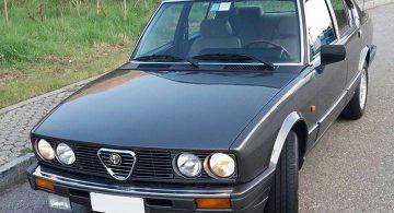 Alfa Romeo Alfetta 2.0i Quadrifoglio Oro II (tipo 116.55N)