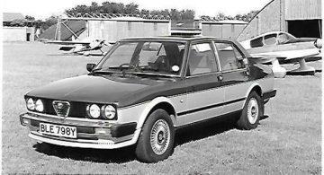 Alfa Romeo Alfetta SL (1982)