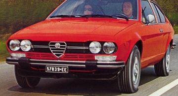 Alfa Romeo Alfetta GTV 2000 (1976)