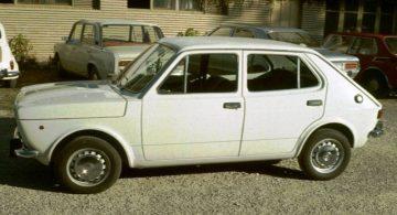 1974 Seat 127 4 doors