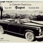 Image of Peugeot 403 Cabriolet (1958)